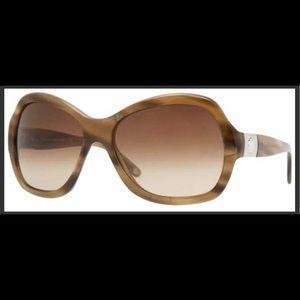 NWOB Versace brown marble gradient sunglasses